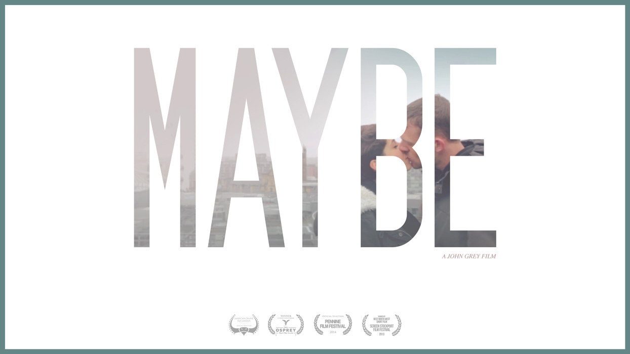 movie poster for short film maybe john grey